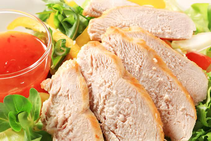 Turkey slices