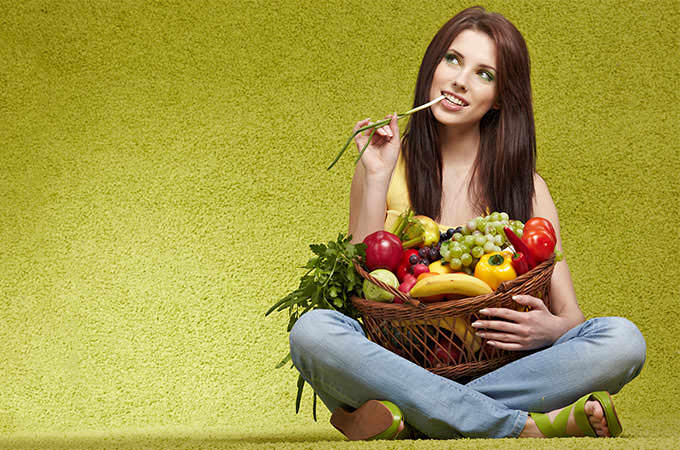 bigstock-Woman-with-fruits-and-vegetab-13970699