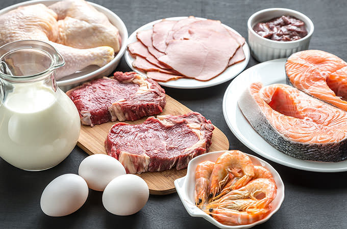bigstock-Protein-Diet-Raw-Products-On--81110180