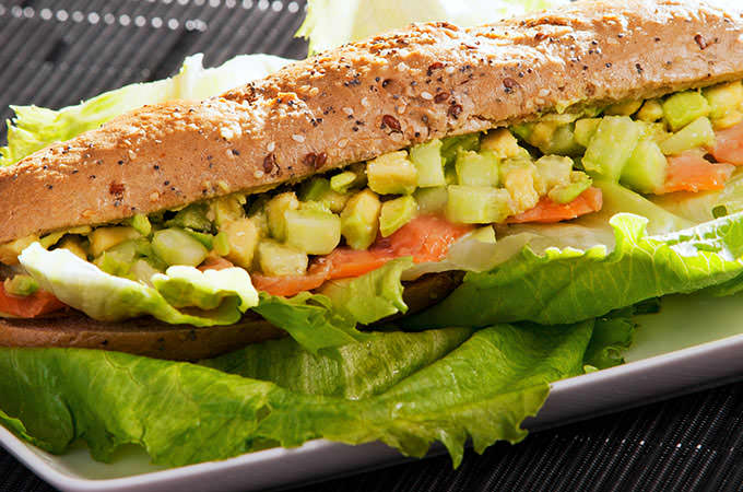 bigstock-Sandwich-With-Salmon-And-Avoca-94942364