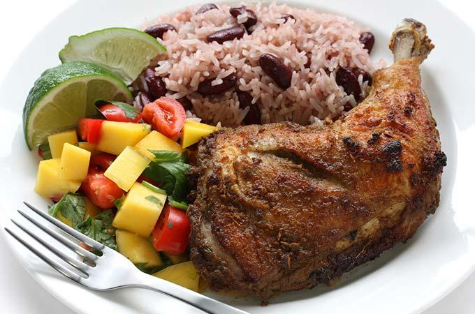 bigstock-jerk-chicken-plate-jamaican-f-34333475