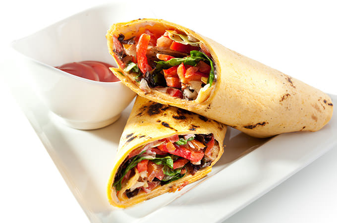 bigstock-Burrito-with-Vegetables-58864274