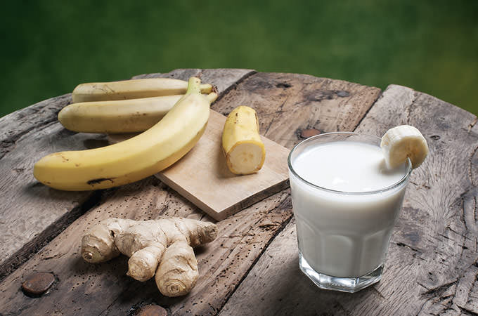 bigstock-Banana-Smoothie-With-Ginger-84077993